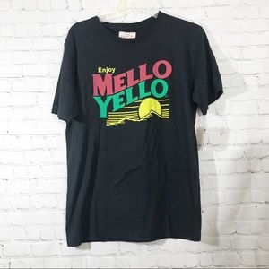 Red jacket Mello yellow Tshirt size Small NWT